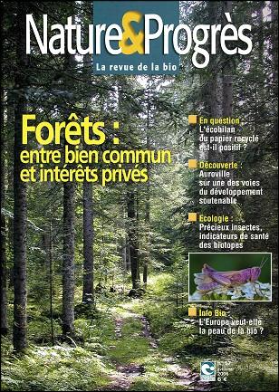 Nature & Progrès N°57 La couverture